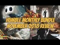 Humble Monthly Bundle | November 2018 Review