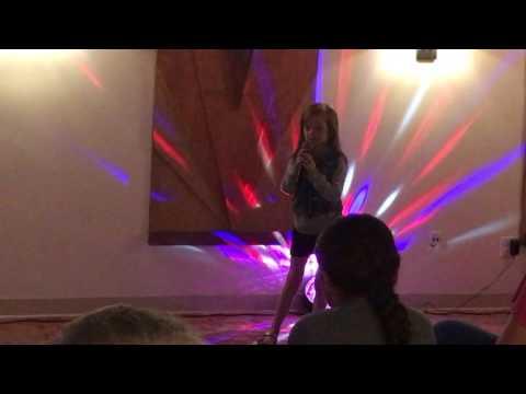 Siena Killin' It Karaoke Style