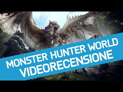 Monster Hunter World: Recensione dell'Hunting Game di Capcom su Playstation 4 Pro
