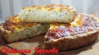 Очень простой пирог с сыром и творогом /Pie with cheese and cottage cheese