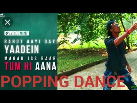 tum-hi-aana-|-lyrical-popping-choreography-|