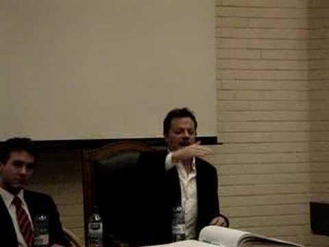Eddie Izzard at UCD (On the Writer