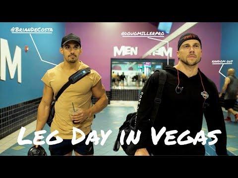 Doug Miller And Brian DeCosta Crush Legs In Vegas!