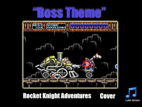 Rocket Knight Adventures Quot Boss Theme Quot Cover Youtube
