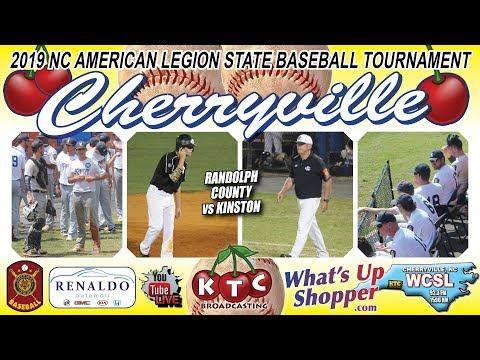 Kinston Vs Randolph County - NC American Legion Baseball Tournament