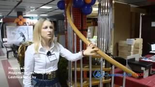 видео Кованые перила для лестниц — как выбрать