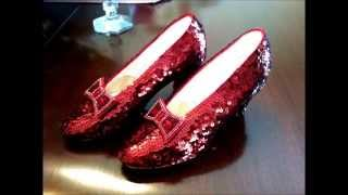 75th Anniversary Wizard of Oz Premiere Ruby Slippers
