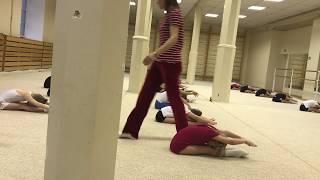 Открытый урок |  художественная гимнастика | НП 1 2017
