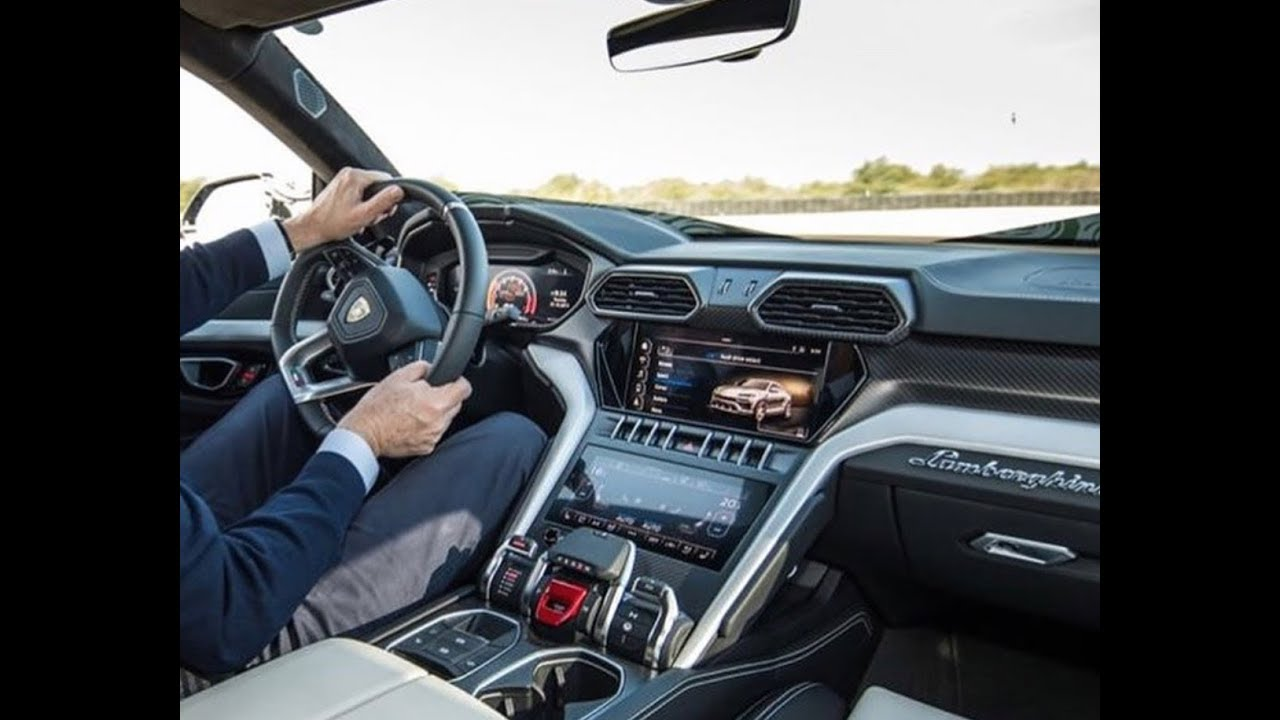 Exclusive 2019 Lamborghini Urus Interior Leaked Youtube
