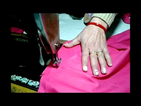 churidar pajami cutting and stitching in hindi