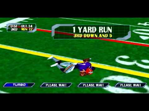 Blitz 2000 Season Mode Week 17- vs.  Minnesota Vikings