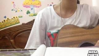 Anh cứ đi đi - Tìm lại giấc mơ - Tâm sự với người lạ mashup guitar cover by Hường Kẹo