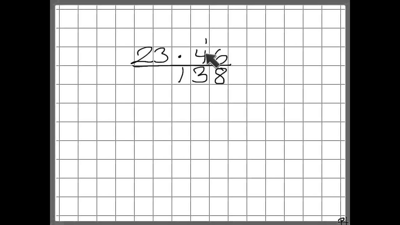 Multiplikation almindelig metode