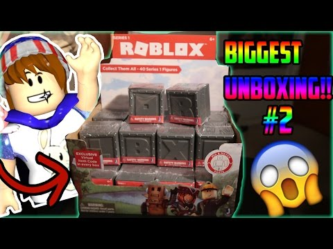 Roblox Toys Surprise Blind Box Mystery Toy Opening Unboxing Part