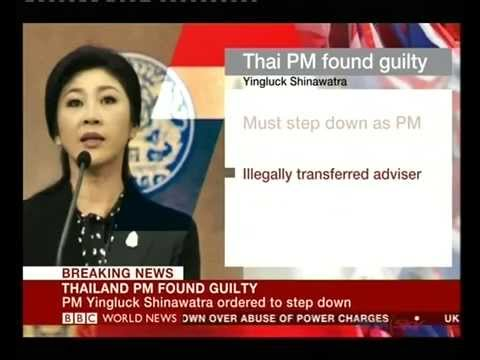 Court ousts Thailand PM Yingluck Shinawatra