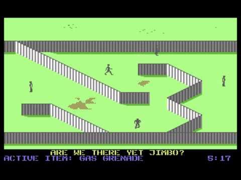 C64-Longplay - Infiltrator