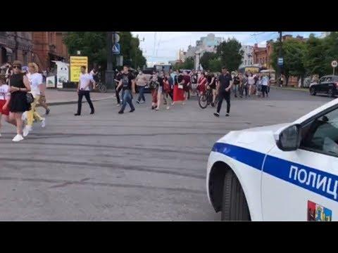 Шествие по Хабаровску в поддержку Сергея Фургала / LIVE 12.07.20