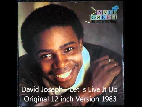 David Joseph - Let's Live It Up Original 12 inch Version 1983