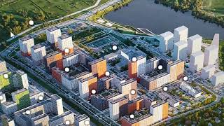 ЖК от ПИК Бунинские луга - сверяем план-схему с реальной местностью