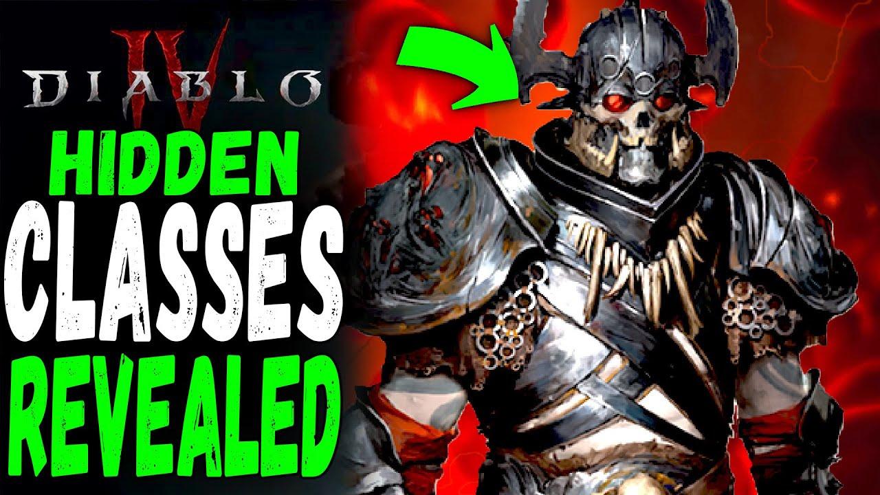 Diablo 4: The Untold Truth of Diablo 4's Unconfirmed Classes Revealed in Lore?