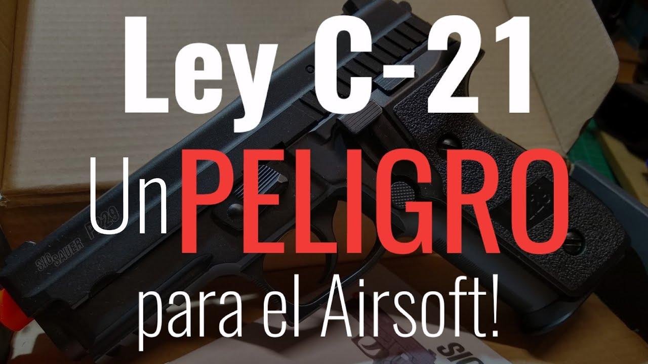 Airsoft en peligro: ley C-21, ayúdanos a correr la voz, todo sirve!
