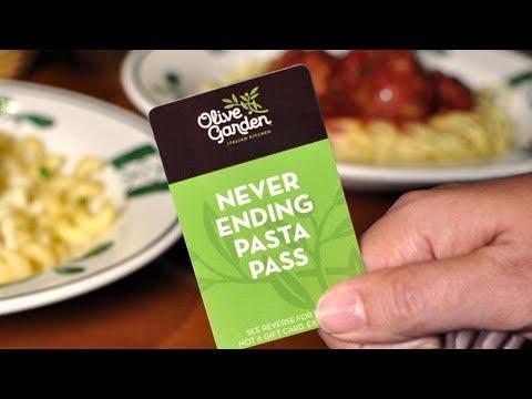 Never Ending Pasta Pass –  Olive Garden