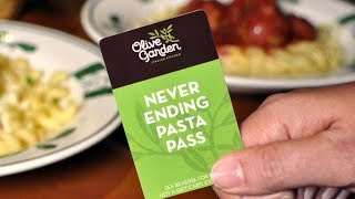 Never Ending Pasta Pass -  Olive Garden