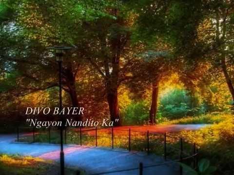 DIVO BAYER -  Ngayon Nandito Ka (with lyrics)