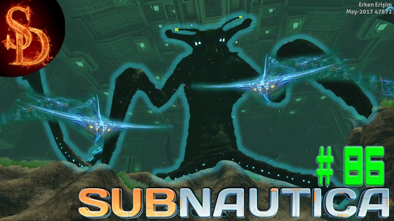Subnautica Türkçe Rehber #86 - Ghost Leviathan, Sea Emperor a adak
