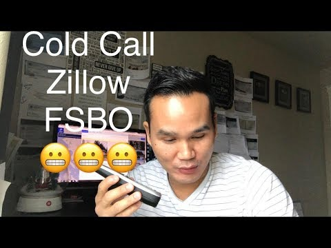 Live cold call zillow for sale by owner fsbo for Call zillow