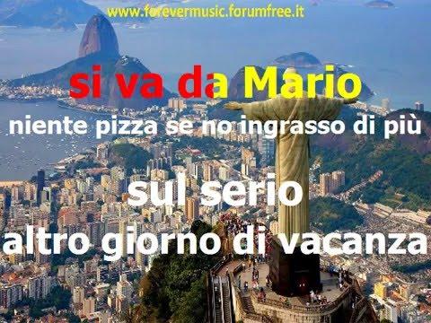 Marcella Bella - Rio de Janeiro (cori) - KARAOKE
