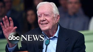 Jimmy Carter hospitalized over holiday weekend l ABC News