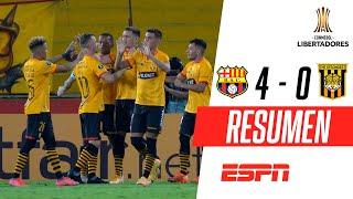 ¡BAILE TORERO Y PUNTAJE IDEAL! | Barcelona 4-0 The Strongest | RESUMEN