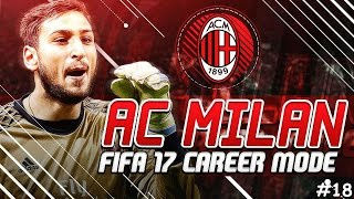 BEST DEFENSIVE STATS?!?! - A.C. MILAN FIFA 17 Career Mode #18