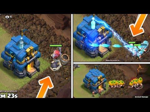 Giga Tesla VS All Seasonal Troops ; Giant Skeleton,Pumpkin Barb,Ice Wizard | Insane Fight