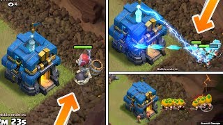 Giga Tesla VS All Seasonal Troops ; Giant Skeleton,Pumpkin Barb,Ice Wizard | Insane Fight