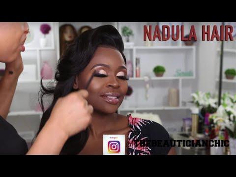 CLIENT HAIR AND MAKEUP TRANSFORMATION VLOG 12 |NADULA  HAIR