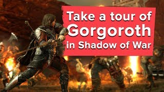 Take a Tour of Gorgoroth in Shadow of War - new Shadow of War gameplay