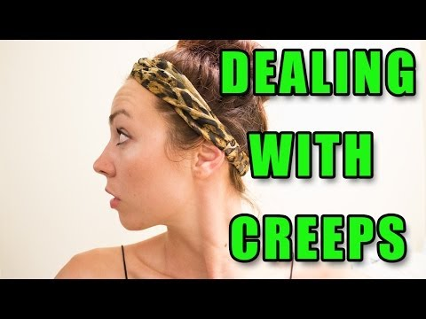 STALKERS, CREEPS, & UNWANTED ATTENTION! | JESSE SAGE