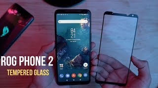 Asus ROG Phone 2 Perfect Tempered Glass Screen Protector - GlazedInc Full Glue Glass
