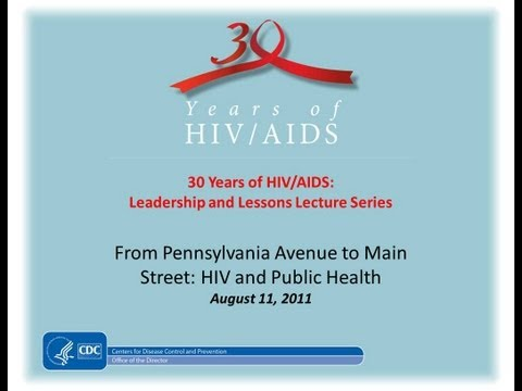 From Pennsylvania Avenue to Main Street: HIV and Public Health