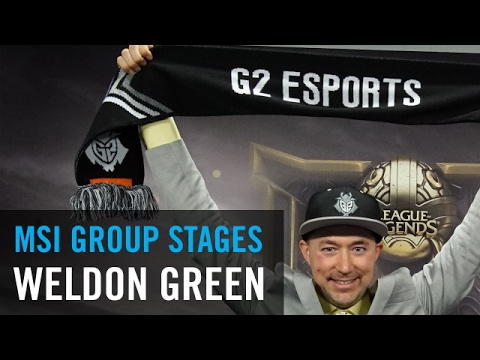 G2 Weldon: 'Whether we do well in the [bracket stage] or not, I think that we've learned a ton here'