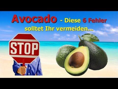 Avocado - Diese 6 Fehler solltet Ihr vermeiden
