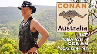 "Live Q&A: ""Conan Without Borders: Australia"""