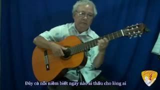 Bước 1: Demo: Hướng dẫn độc tấu bài KIẾP NGHÈO (Lam Phương)