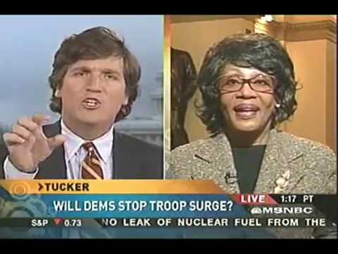 Tucker Carlson and Maxine Waters Never Did Get Along