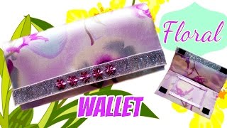 DIY Easy Wallet * How to Make a Wallet at Home*NO SEW