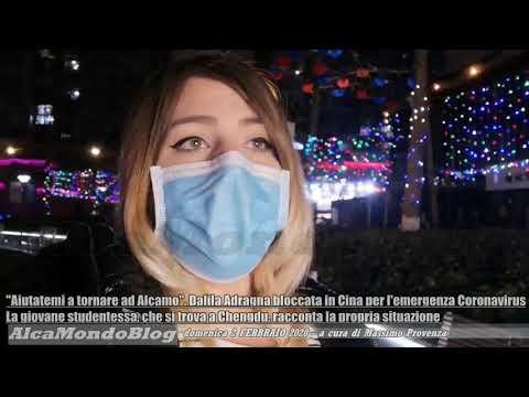 'Aiutatemi a tornare ad Alcamo'. Dalila Adragna bloccata in Cina per l'emergenza Coronavirus