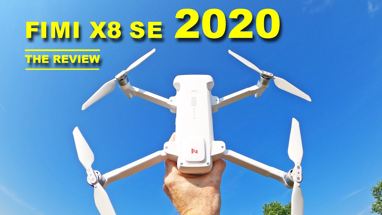The Amazing FIMI X8 SE 2020 Drone - You get plenty for the price!  Review