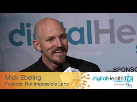 Mick Ebeling, Founder, Not Impossible Labs, Digital Health Summit CES 2014, hosted by Tim Reha